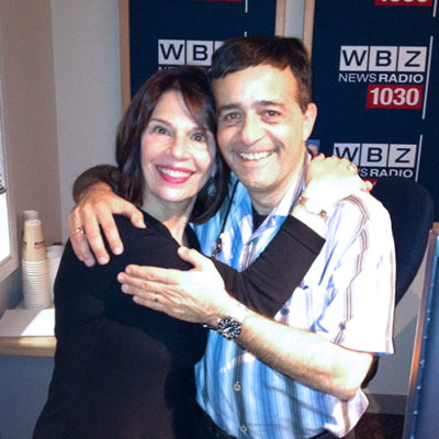 Hildy Grossman and Jordan Rich, WBZ radio