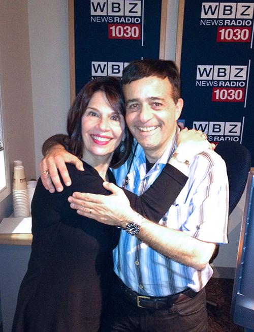 Hildy Grossman and Jordan Rich, WBZ radio